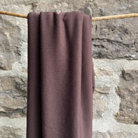 Bamboo Spandex Jersey 235gsm - Made in USA - Birch Brown