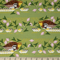 Family Outing - Charley Harper - Birch Fabrics - Barkcloth