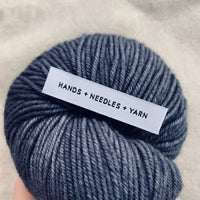"""HANDS + NEEDLES + YARN"" Woven Label Pack - Kylie And The Machine"