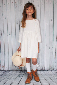 I am CASSIOPEE MINI - Oversized Dress Pattern (Girls 3-14Y) -  I AM PATTERNS