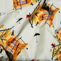 Fair Weather Friends -  Halloween - Charley Harper - Birch Fabrics - Poplin