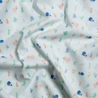 Little One - Kitty Garden - Jenny Ronen - Birch Fabrics - Poplin