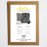 Jim Jogpants Sewing Pattern- Boy 3/12Y - Ikatee
