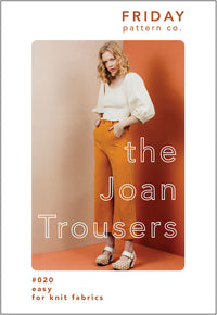 Joan Trousers Pattern - Friday Pattern Company