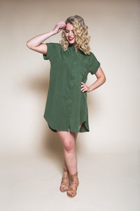 Kalle Shirt & Shirtdress Pattern - Closet Case Patterns