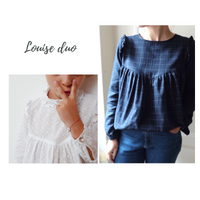 Louise Mum Blouse & Dress Sewing Pattern - Ladies 34/46 - Ikatee