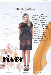 River Dress & Top - Megan Nielsen Patterns - Sewing Pattern