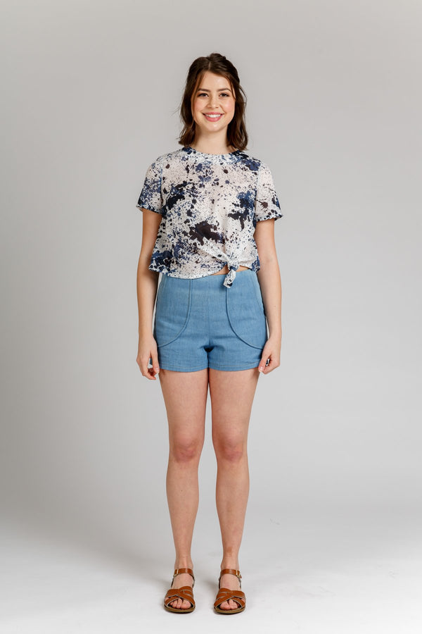 Harper Shorts & Skort - Megan Nielsen Patterns - Sewing Pattern