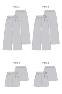 Flint Pants & Shorts - Megan Nielsen Patterns - Sewing Pattern