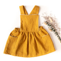 Milano Dress Sewing Pattern - Baby Girl 6M/4Y - Ikatee