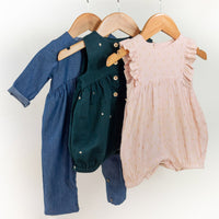 Madrid Jumpsuit/Playsuit Sewing Pattern - Baby 6M/4Y - Ikatee