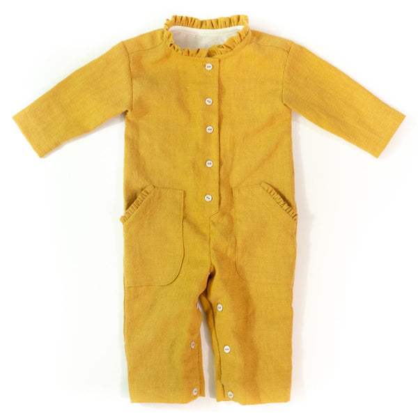 Brooklyn Jumpsuit Sewing Pattern - Baby 6M/4Y - Ikatee