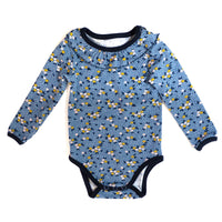 Malmö Bodysuit Sewing Pattern - Baby Boy & Girl 1M/4Y - Ikatee