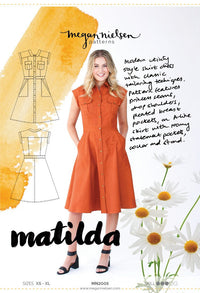 Matilda Dress - Megan Nielsen Patterns - Sewing Pattern