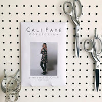 Primrose Pullover Sewing Pattern - Cali Faye Collection