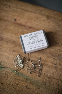 Nickel French Safety Pins - Merchant & Mills