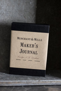 Maker's Journal - Merchant & Mills