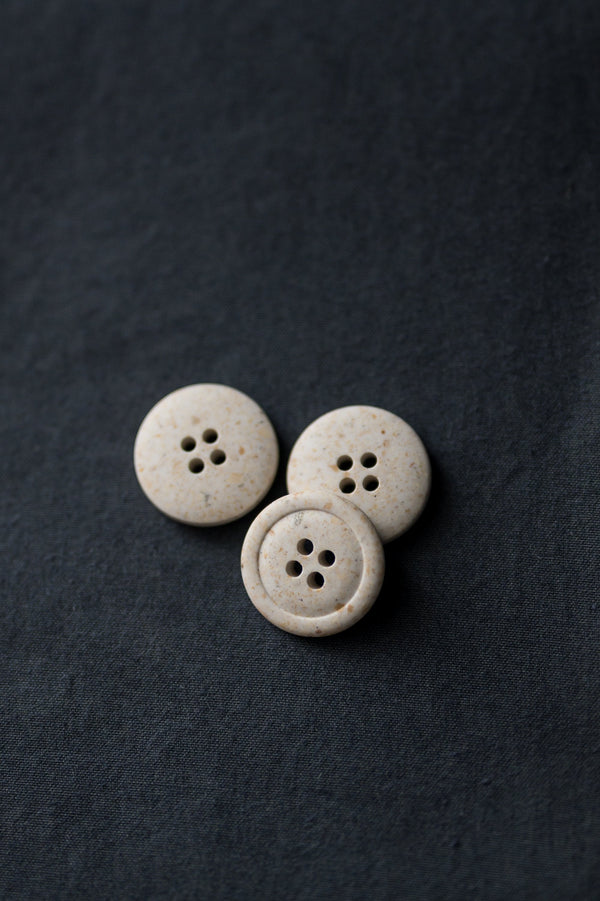 Bianco - Recycled Resin Button - Merchant & Mills - 20mm