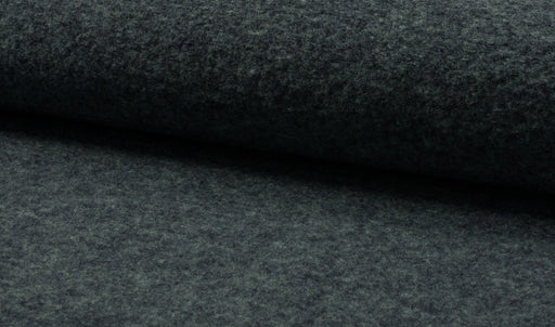 Boiled Wool - European Import - Navy Melange