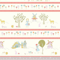 Storyboek Stripe - Storyboek Drie - Jay-Can Designs - Birch Fabrics - Poplin