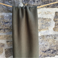 Organic Cotton Waffle / Thermal 200gsm - Military Green 12