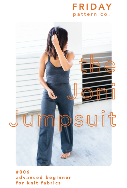 Joni Jumpsuit Pattern - Friday Pattern Company