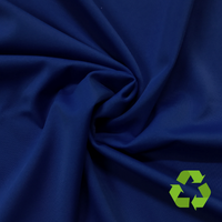 Repreve® Recycled Polyester Spandex Jersey - Navy - 205gsm