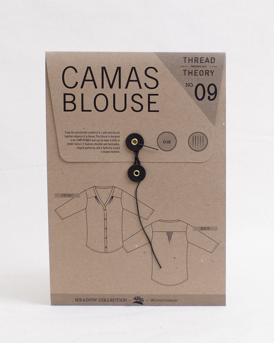 Camas Blouse Pattern - Thread Theory