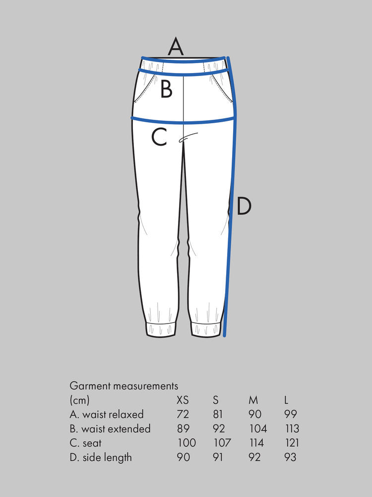 Almost Long Trousers Pattern - The Assembly Line