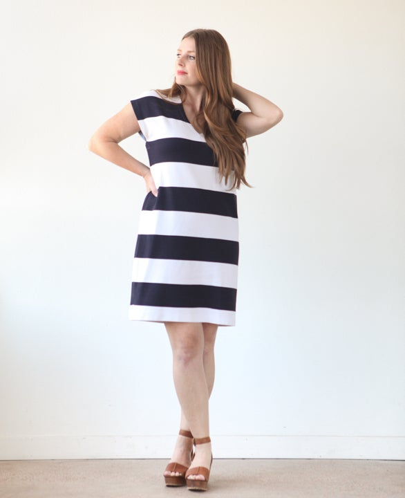 Lodo Dress Sewing Pattern - True Bias