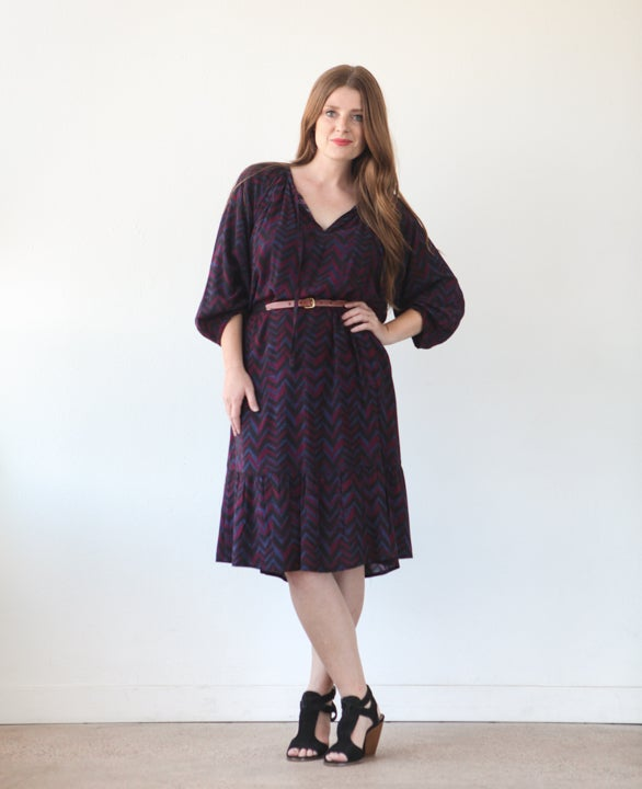 Roscoe Blouse & Dress Sewing Pattern - True Bias