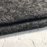 Boiled Wool - European Import - Dark Grey
