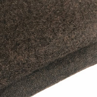 Boiled Wool - European Import - Dark Brown