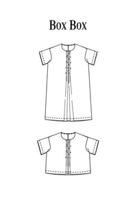 The Box Box (Top/Dress) Womens Pattern - Merchant & Mills