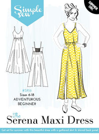 The Serena Maxi Dress - Simple Sew - Sewing Pattern