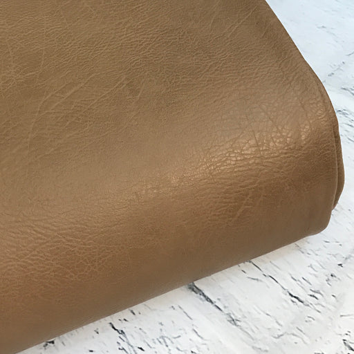 Vegan Leather - Vintage - Camel