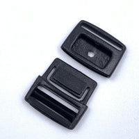 "1/2"" Slimline Center Release Buckle - Black"