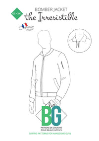 The Irresistible - Bomber Jacket - Mens Sewing Pattern - Patrons Les BG