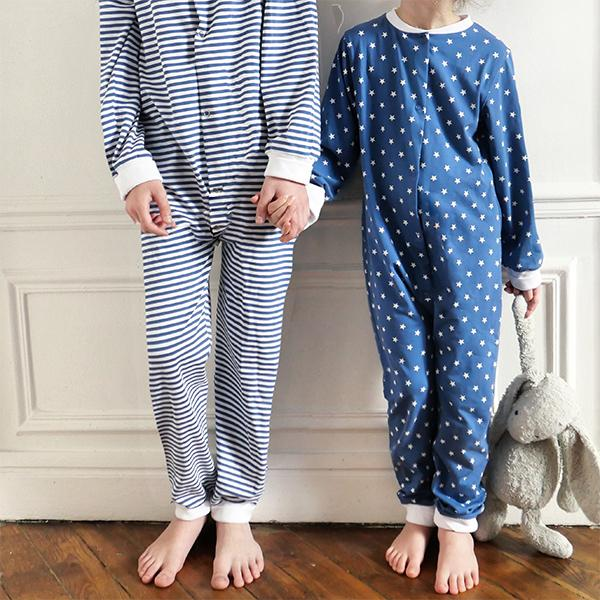 Gaby PJ Jumpsuit Sewing Pattern - Kids 3/12Y - Ikatee