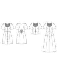 The Hughes Dress Pattern - Friday Pattern Company