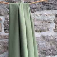 Organic Cotton Flannel 155gsm - Olive Green