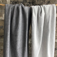 Bamboo Stretch Terry - Heather Dark Grey