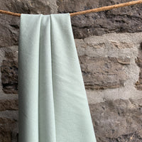 Organic Cotton Flannel 155gsm - Winter Mint