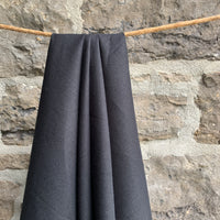 Hemp Organic Cotton Muslin - Black