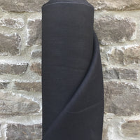 Linen 245gsm - Black - European Import - Simplifi Fabric