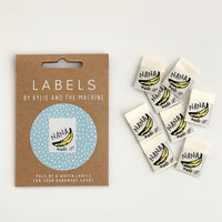 """NANA MADE IT"" Woven Label Pack - Kylie And The Machine"