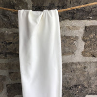 Organic Cotton Spandex Jersey - Natural White 200 gsm