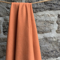Organic Cotton Flannel 155gsm - Pumpkin