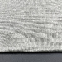 Organic Cotton Waffle / Thermal 260gsm - Dove Grey 14