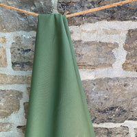 Organic Cotton Canvas 12oz - Army Green